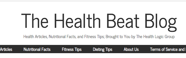 The Health Beat Blog